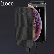 HOCO Slim 5000 mAh Power Bank Portable Ultra-thin Polymer Po