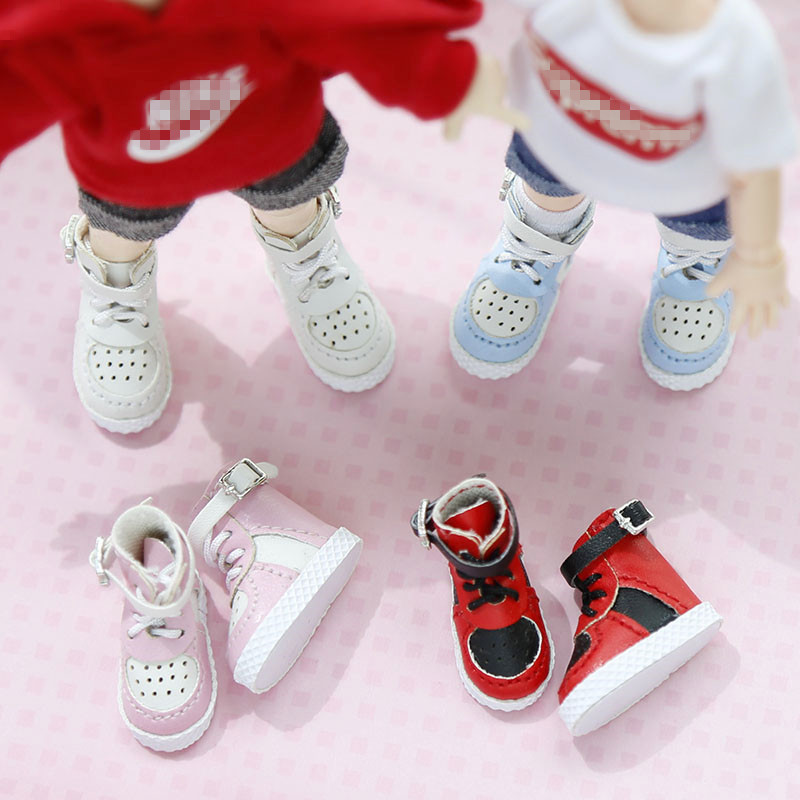 Amazing [High-Top Sport Shoes] OB11 Sneakers Shoes Obitsu11 Casual Shoes  (suitable For Ob11,obitsu11,BJD12)