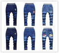 Autumn 2016 new children's clothing boy pants children jeans big virgin girls denim trousers