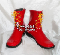 Ronald McDonald Party Red Fancy Cosplay Shoes Boots X002
