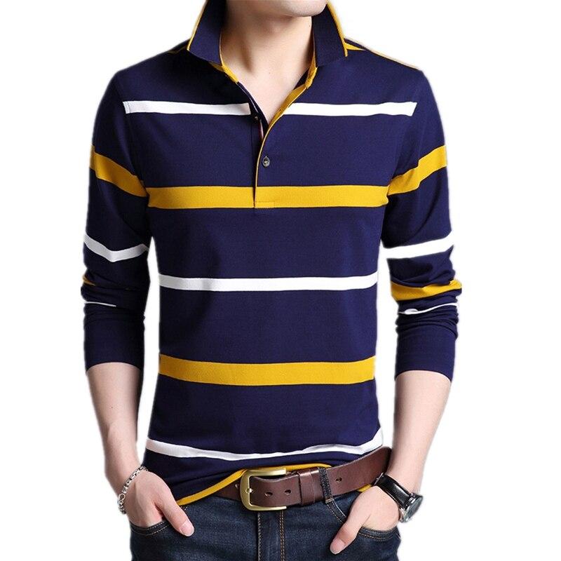England เสื้อแขนยาวผู้ชายเสื้อโปโลเสื้อผ้าลายผ้าฝ้ายโปโล Para Hombre Casual Slim Fit Camisa Polo Masculina-ใน โปโล จาก เสื้อผ้าผู้ชาย บน AliExpress - 11.11_สิบเอ็ด สิบเอ็ดวันคนโสด 1