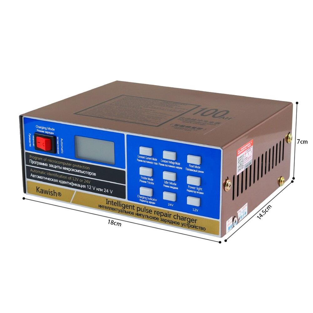 New110V 220V Full Automatic Car font b Battery b font Charger Intelligent Pulse Repair font b
