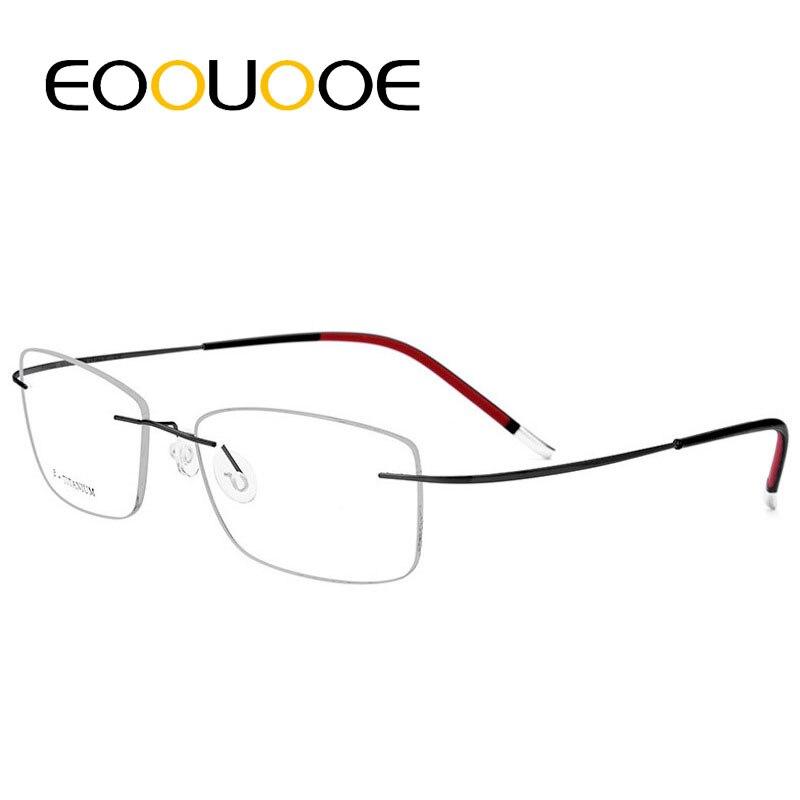 c54a7c24e61 B Rimless Reading Glasses For Men Unisex Eyeglasses Optics Frame Women 1.75  2.75 Degree Oculos ...