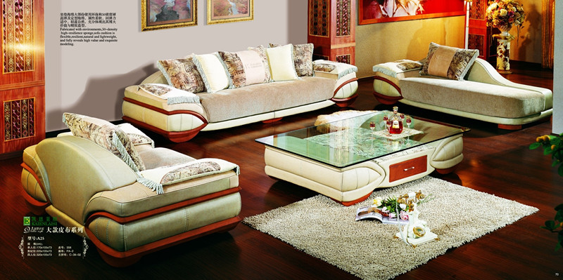 Nice Sofa nice design fabric sofa set a21-in living room sofas from