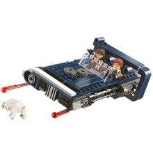 BELA 10897 Solo Han Solo, blocs de construction modèle Landspeeder, jouets pour enfants, figurines éclairées, cadeau de noël