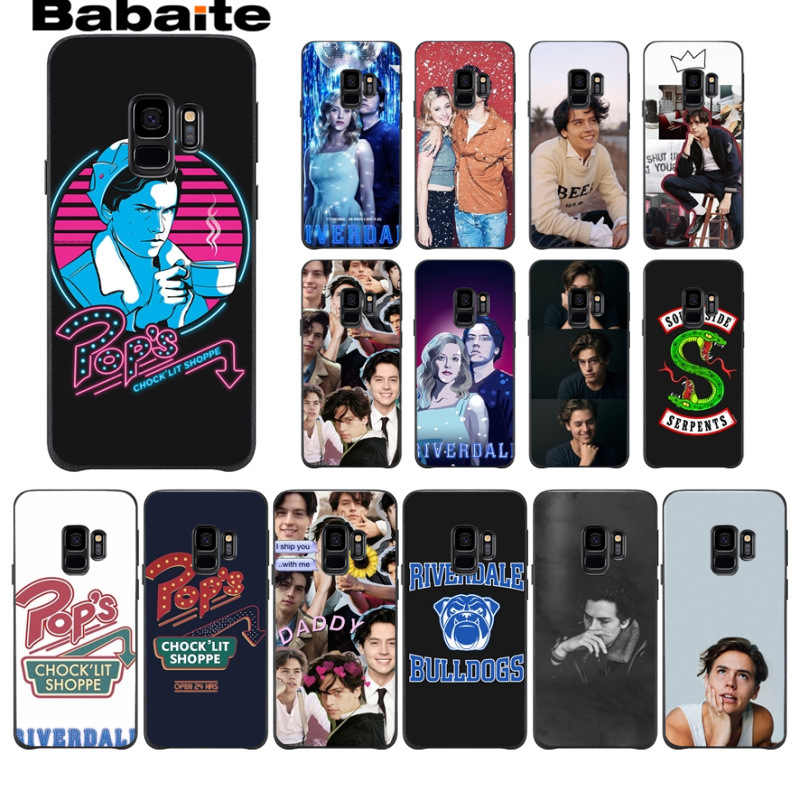 TV Riverdale DIY Luxury High-end Protector phone Case For Samsung Galaxy s8 s9 plus note 8 note9 s7 s6edge cover Babaite