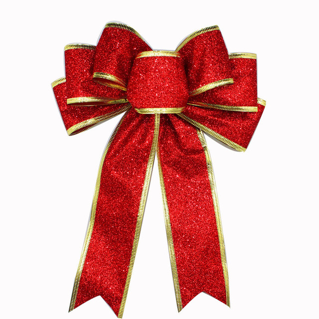 Christmas Tree Bows Decorations: How To Tie Decorative Christmas Bows