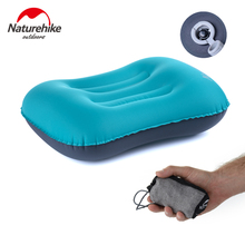 Naturehike Compressible Inflatable Camping Pillow Lightweight Compact Portable Backpacking for Sleep and Lumbar Support