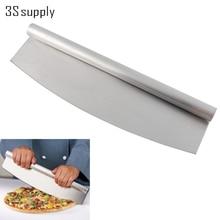 """Neue 14 """"Professionelle Pizza Slicer Rocker Messer Edelstahl Pizzaschneider Rocker Messer Küche Kochen Zubehör Backformen"""