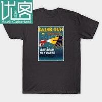 DALEK GUN ASTRO RAY футболка Дешевые мужские футболки модные рубашки