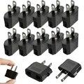Nuevo 10 unids UE EE.UU. Viaje AC Plug Power Adaptador Convertidor de Enchufe de Pared Cargador Enchufes Eléctricos De Potencia Adaptadores JA29rter