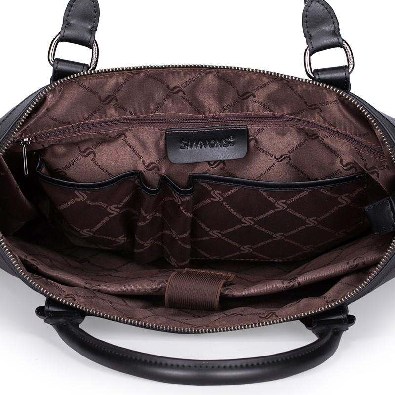 SAMMONS men genuine leather briefcase 190209-01_05