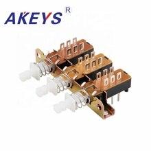 2PCS PBS-22H18-15-3 6PINS KAN3H Straight key switch for Agitator