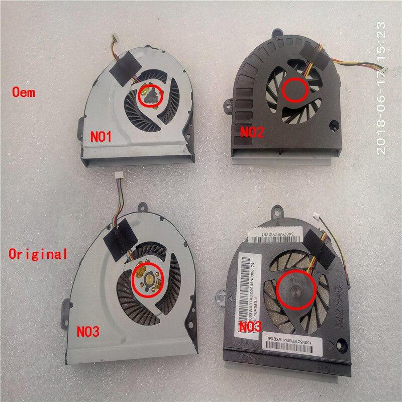 CPU ventilateur pour ASUS K53E K53S K53SC K53SD K53SJ K53SK K53SM K53SV K84 A43S K43 K43T K43B K53B K53BY k53t a53U X53U K43TK X44H k73