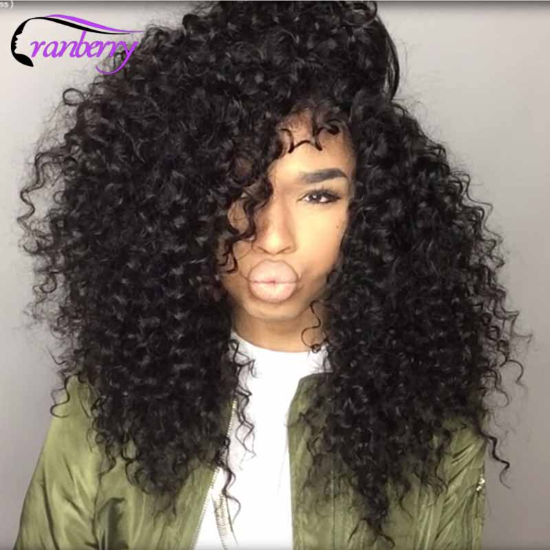 7A Cranberry Curly Indian Hair Indian Kinky Curly Hair 4
