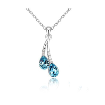 Crystal Water Drop Necklace 1