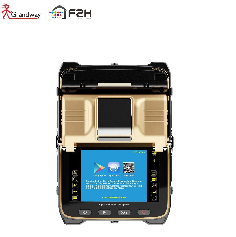 [Boum!!! Garantie à vie gratuite!!!] Grandway GW-I8 FTTH fibre optique fusion épissage machine extérieure automatique SM & MM