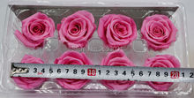 preserved flowers 8pcs/lot flowers wholesale immortal rose diy eternal life flowers material 4-5cm fresh flowers