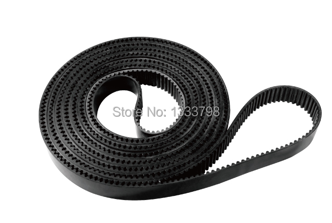 High quality 10mm pitch steel core closed loop belt 30mm width black color pu synchronous belt lupulley s8m timing belt black closed loop rubber belt s8m2880 3200 3272 3280 3400 3440 3600 toothed belt drive for printing