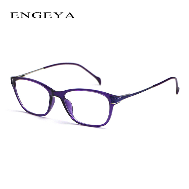 8b01073bea1 2016 Fashion TR90 Ultralight Eye Glasses Frames For Women Brand Optical  Eyewear Myopia Computer Glasses Frame