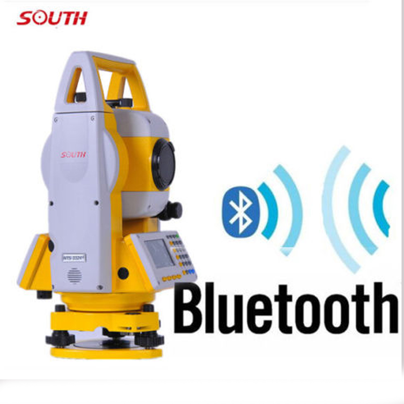 New  South 600M Reflectorless NTS-332R6X  Total Station   the latest guide light,