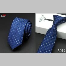 Newest fashion polyester Microfiber Skinny Mens Ties 6cm width Goom Neckties Slim Neck Tie Free Shipping