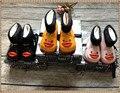 Мини Мелиссы желтая утка мальчик девочка дождь Сапоги теплая зима бархат детские todder очаровательны моды сапоги без скольжения воды обувь Sapato