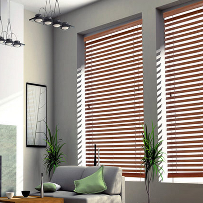 Shutter Blackout Curtains Study Bedroom Toilet Water