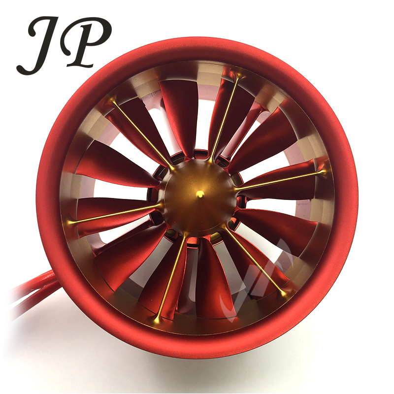 RC Air Plane 50V, 142A,7100W,9.3KG JP120mm EDF Ducted Fan 12Blades with 5060 Motor 750KV All Set free shipping