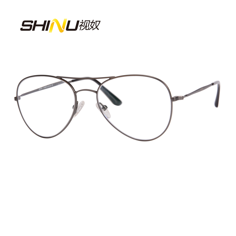 Blue Light Blocking Progressive Multifocal Lens Reading Glasses Bifocal See Near Far Ultralight Diopter Glasses +1.75 to +3.0