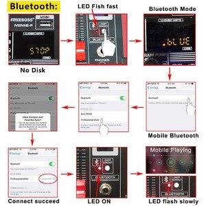 Image 3 - Freeboss MINI8 P 8 kanallı güç karıştırma konsolu amplifikatör Bluetooth kaydı 99 DSP etkisi 2x170W profesyonel USB ses mikseri