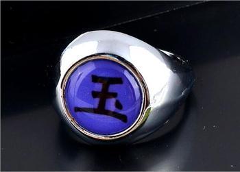 Naruto Nagato Pain Theme Ring – Uchiha Itachi Hidan Deidara Orochimaru Akatsuki Deidara