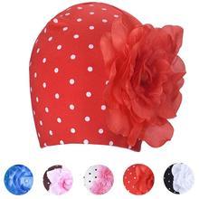 2017 Hot Sale Baby girl's Flower Hats Baby Hats hat winter autumn Warm Cap Winter Hats For Children