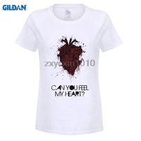 GILDAN Bring Me The Horizon Can You Feel My Heart Women T Shirts Digital Printed 100
