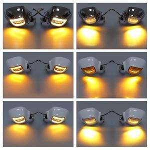 Image 5 - مرآة رؤية خلفية للدراجة النارية مع إشارة انعطاف لملحقات هوندا Goldwing GL1800 2001 2012 2011 2010