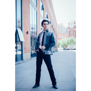 Image 3 - ROLECOS משחק דטרויט הפך אדם קוספליי תלבושות קונור RK800 חליפת אחיד מעיל חולצה עניבה לגברים מסיבת קוספליי בגדים