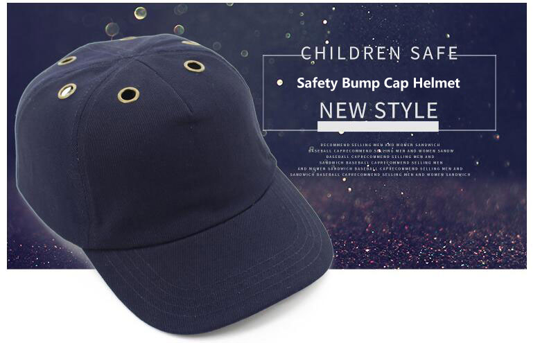 Safety Bump Cap Helmet Anti impact Baseball Hat Style Protective Safety Hard Hat with 6 metal breathing holeSafety Bump Cap Helmet Anti impact Baseball Hat Style Protective Safety Hard Hat with 6 metal breathing hole