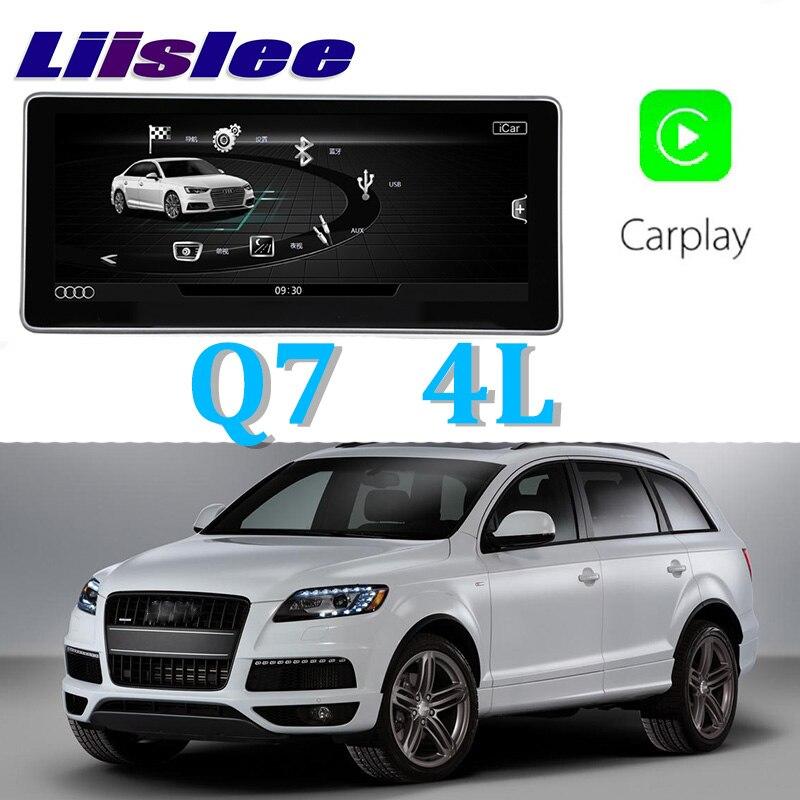 Liislee автомобильный мультимедийный плеер NAVI 10,25 дюймов для Audi Q7 4L 2007 ~ 2015 Riginal автомобиля MMI Стиль Радио Стерео gps навигации