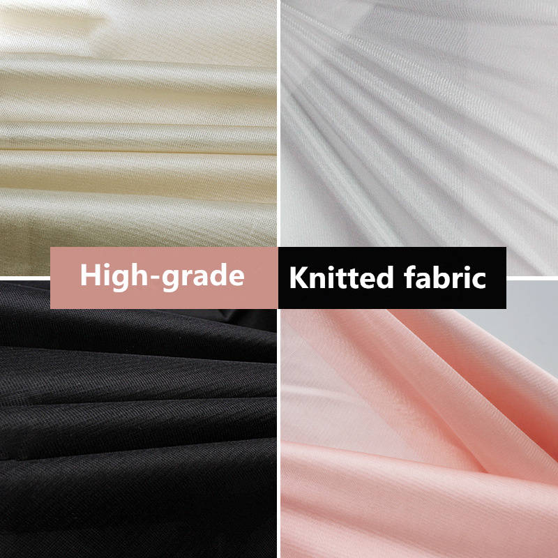 Knitted Fabric Skirt Interlining High Quality Soft Silky Bra Underwear Lining Curtains DIY Cushion Patchwork 1.7m Wide 1m/1PC