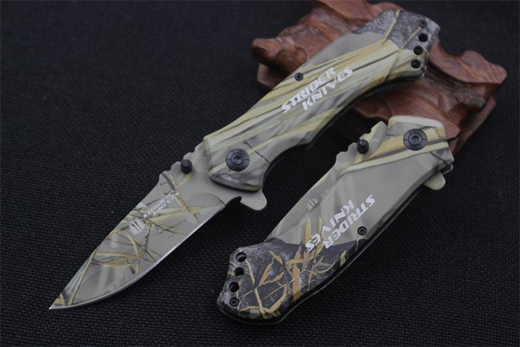 karambit Strider knives outdoor camping jungle camouflage survival battle cs go gaming sharp folding tactical hunting knives