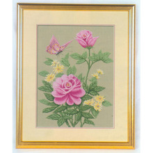 needlework counted cross stitch embroidery kits butterfly fl