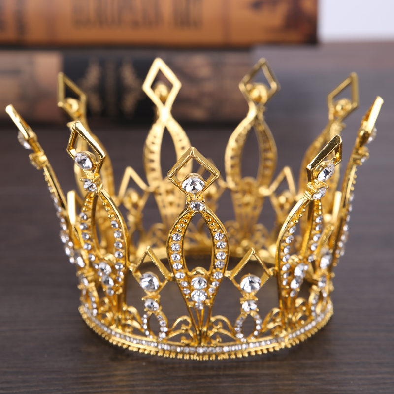 TUANMING Fashion Gold Women font b Hair b font font b Jewelry b font Headdress Crystal