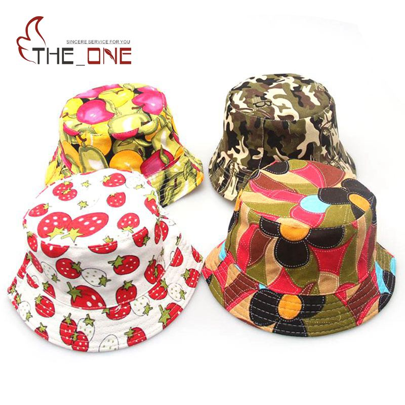 MUABABY Bucket Children Summer Baby Girls Kids Boys cap