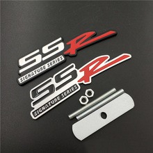 Car Styling for SSR Metal Front Grille Emblem Badge Sticker Decoration for Chevrolet Cruze Aveo Captiva Malibu Sail Lacetti Trax стоимость