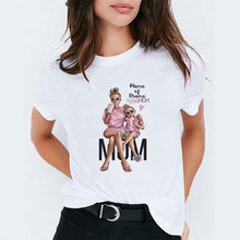 best wiff MOM BOSS cartoon Print Women tshirt Casual Funny t shirts mama Happy mother's day For vogue Girl Top femme Hipster(China)