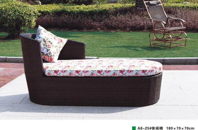 Chaise lounge informal tumbona cama almohada enviar / cama ...