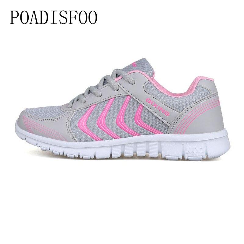 Women shoes 2018 New Arrivals fashion tenis feminino light breathable mesh shoes woman casual shoes women sneakers .LXL-912