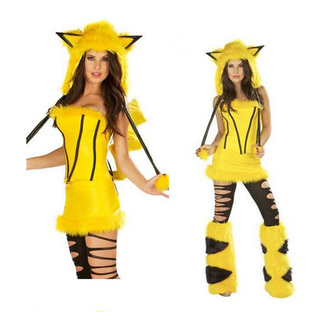 Halloween Costumes Pokemon Pikachu Mollusk Assemblies Charming ...