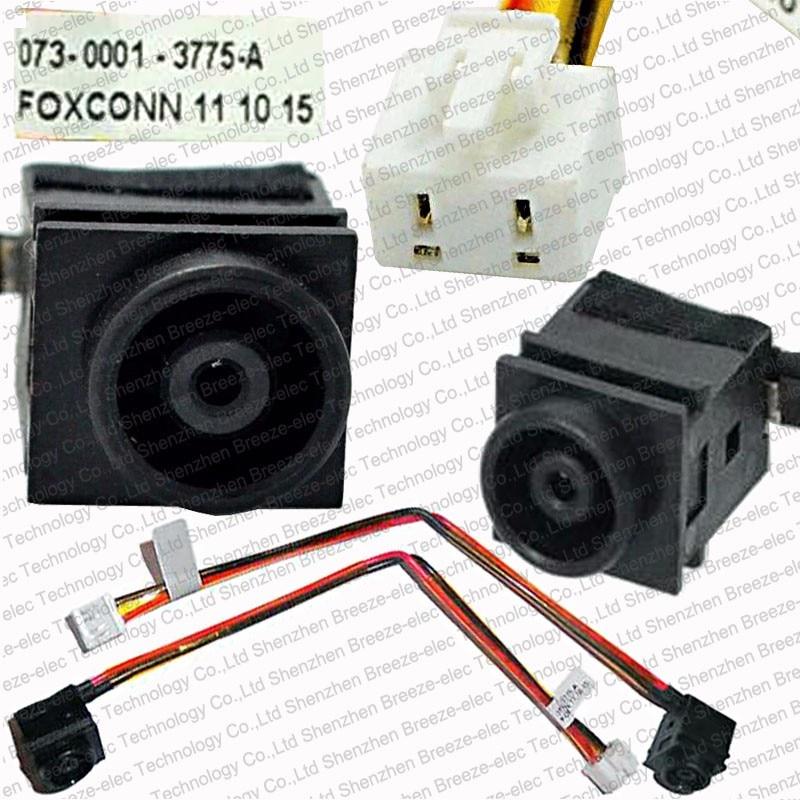 20 PIECES / LOT NYHET Laptop DC IN Strömuttag och kabelnätuttag för Sony Vaio PCG VGN-NR VGN NR VGN-NR260E / W VGN-NR498EP