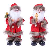 Electric Santa Claus Toys Dancing Singing Doll Xmas Tree Ornaments Pendant For Kids Party Gifts Christmas